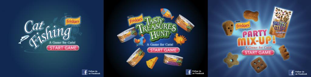 Friskies jeux pour Ipad