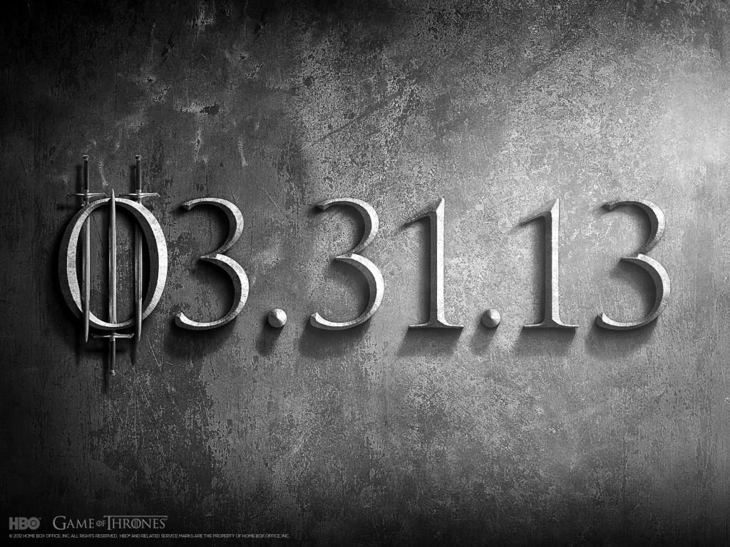 Game of Thrones Jour J
