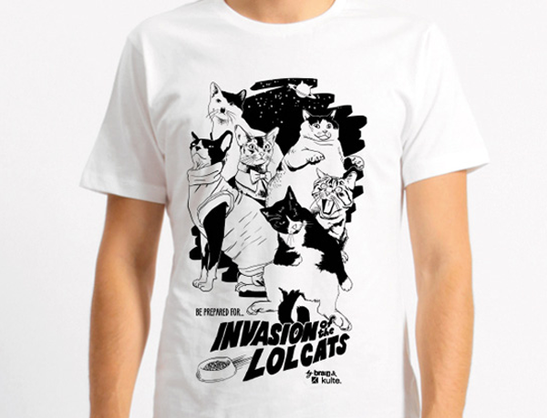 Invasion of the LOLcats T-Shirt