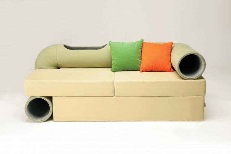 Le Cat Tunnel Sofa