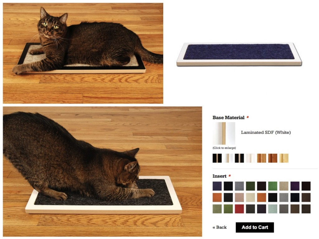 Lo Scratcher de Square Cat Habitat