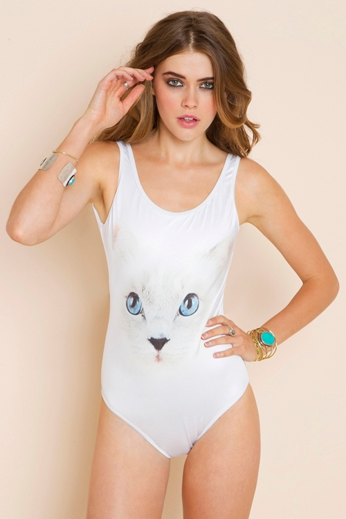 Maillot chat Wildfox
