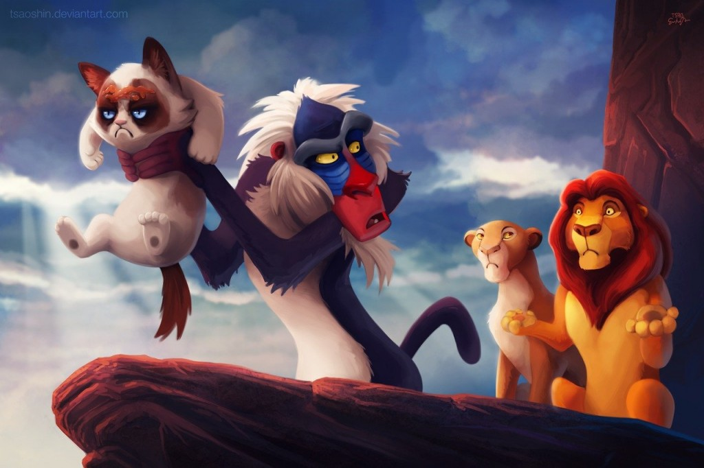Disney Grumpified > Le Roi Lion