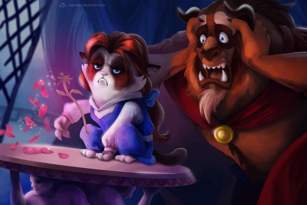 Disney Grumpified > La Belle et la Bête