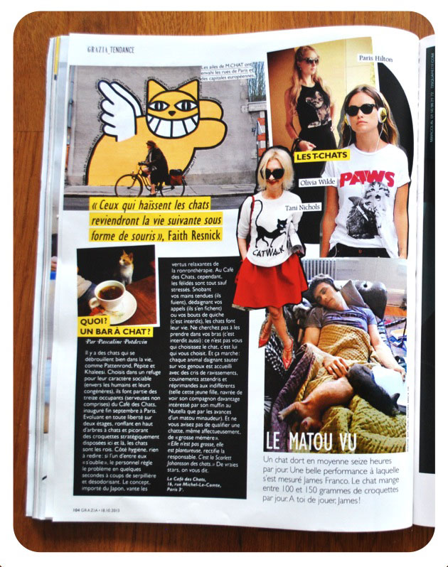 Grazia / Cat Attack